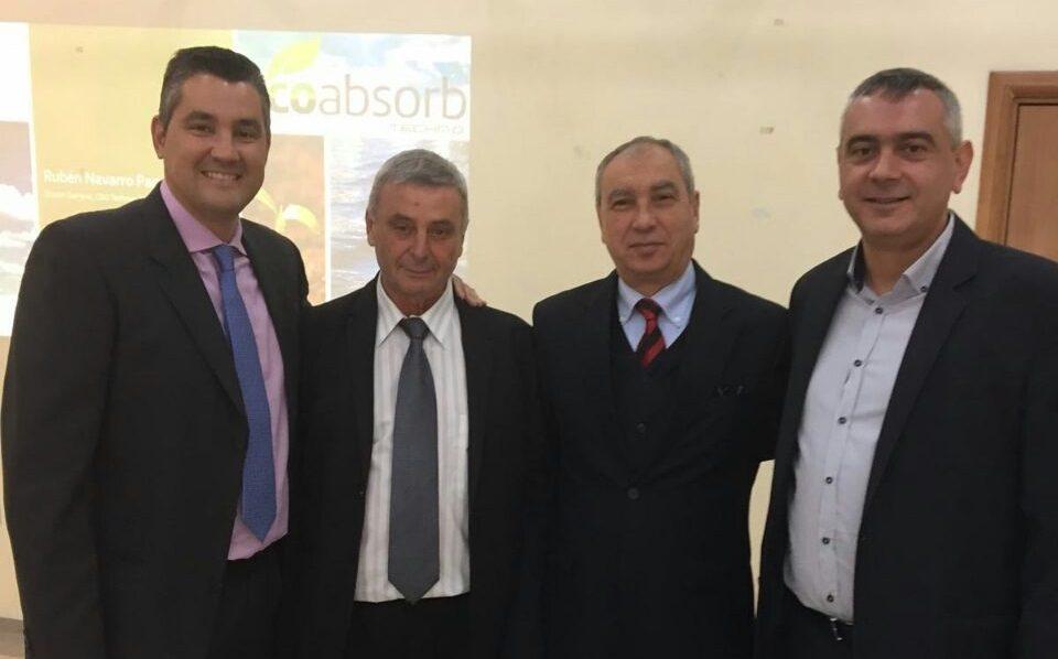 Presentacion de ecoabsorb en bulgaria
